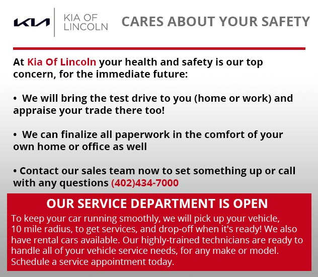 Kia of Lincoln Cares