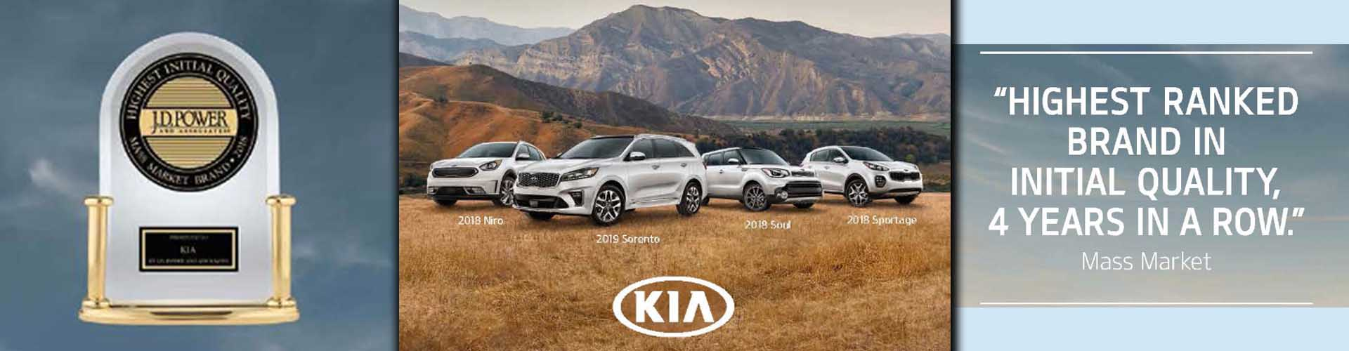 JD Power awards KIA