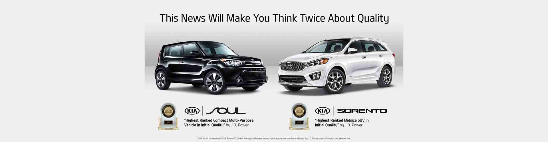 JD Power Award 2017 KIA