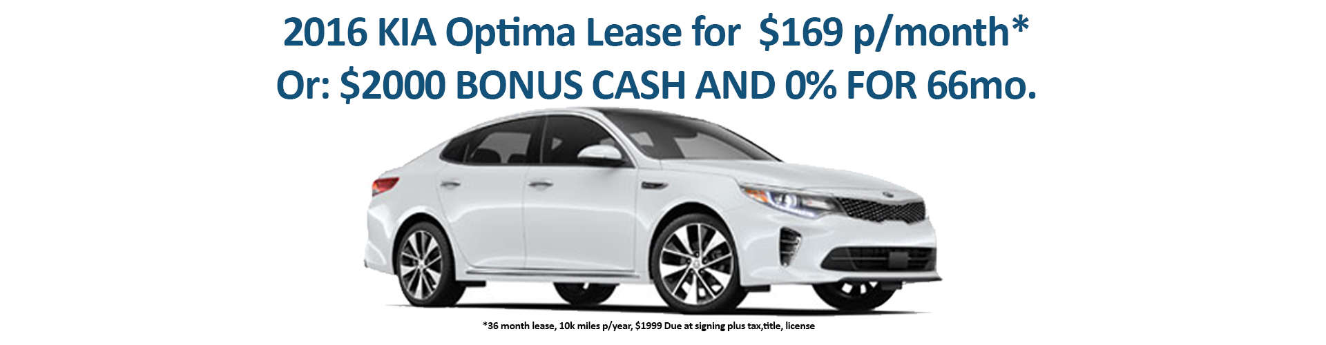 2016 KIA OPTIMA LEASE OFFER