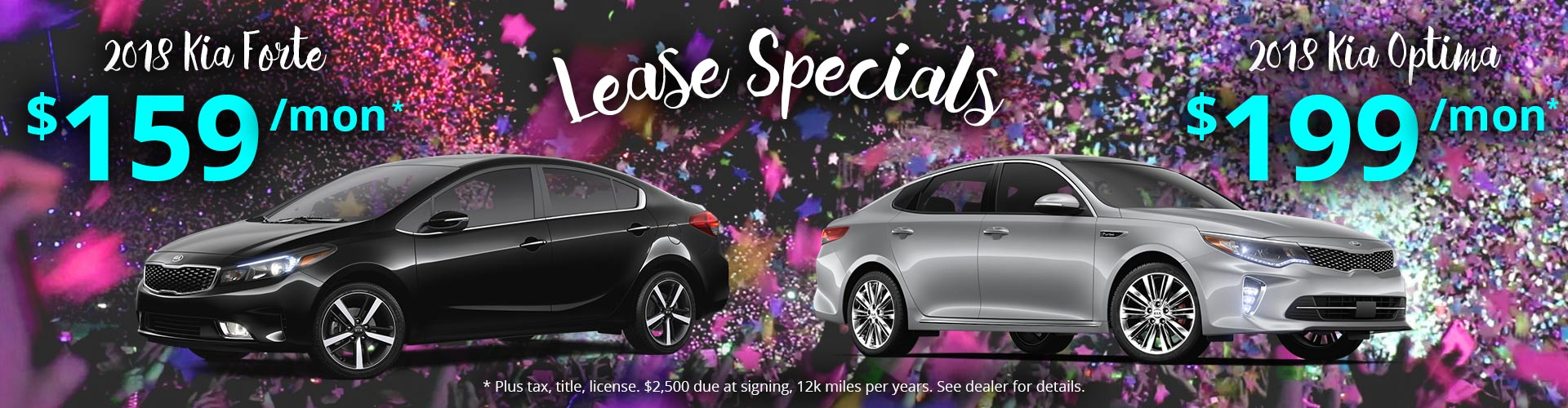 Great Deals on Kia Forte and Optima